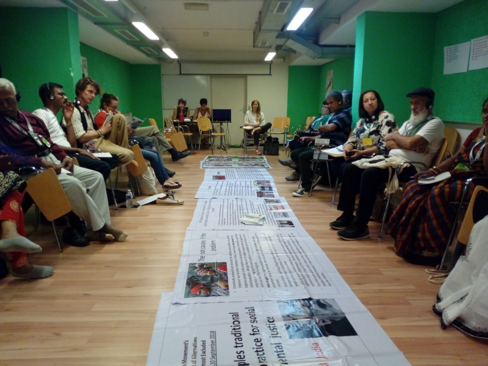 Images of the World Forum of Alternatives!