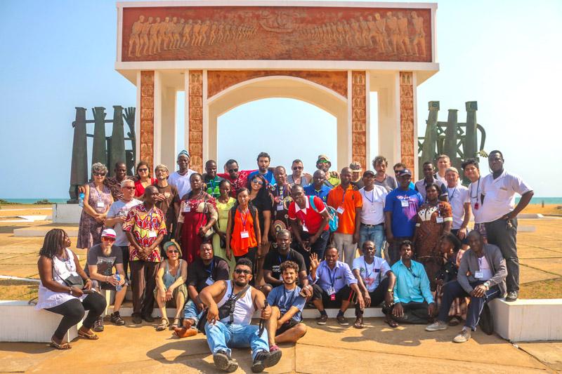 Clôture Du Chantier Emmaüs En Afrique