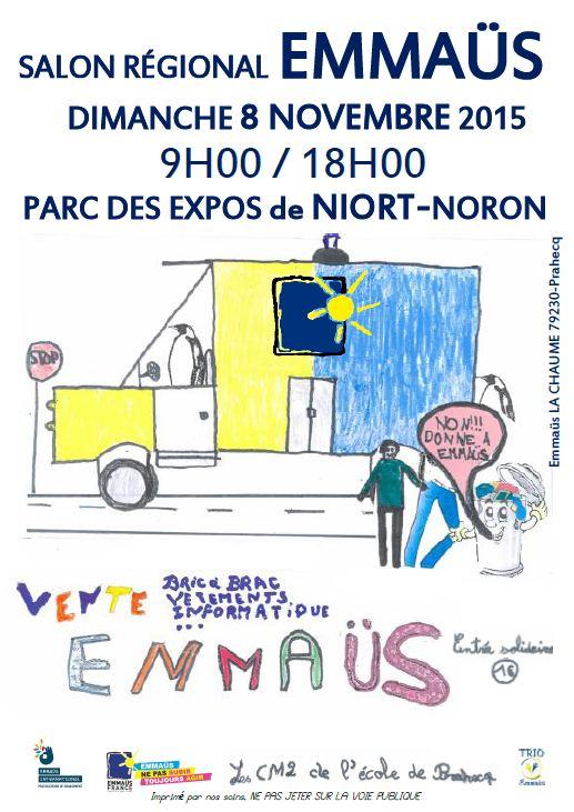 Ventes de solidarit for Parc des expositions niort