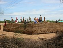 thumb VCDS Bricks transfered Kazhikuppam multipurpose community centre construction work